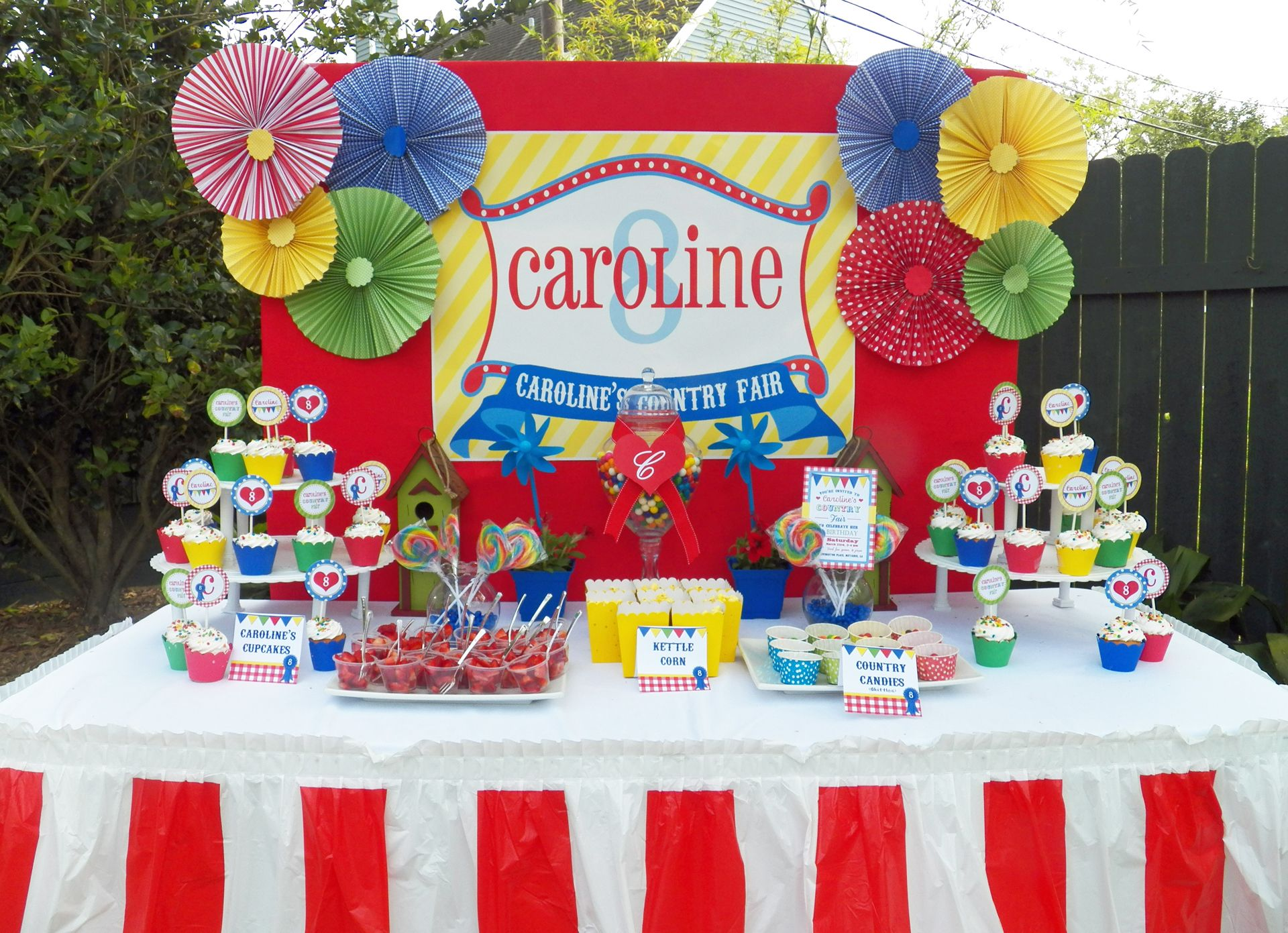 Carnival Birthday Party Google Search Brynlee 39 S 5th