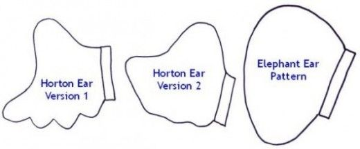 How to make horton the elephant headband ears storybook how to make horton the elephant headband ears ccuart Image collections