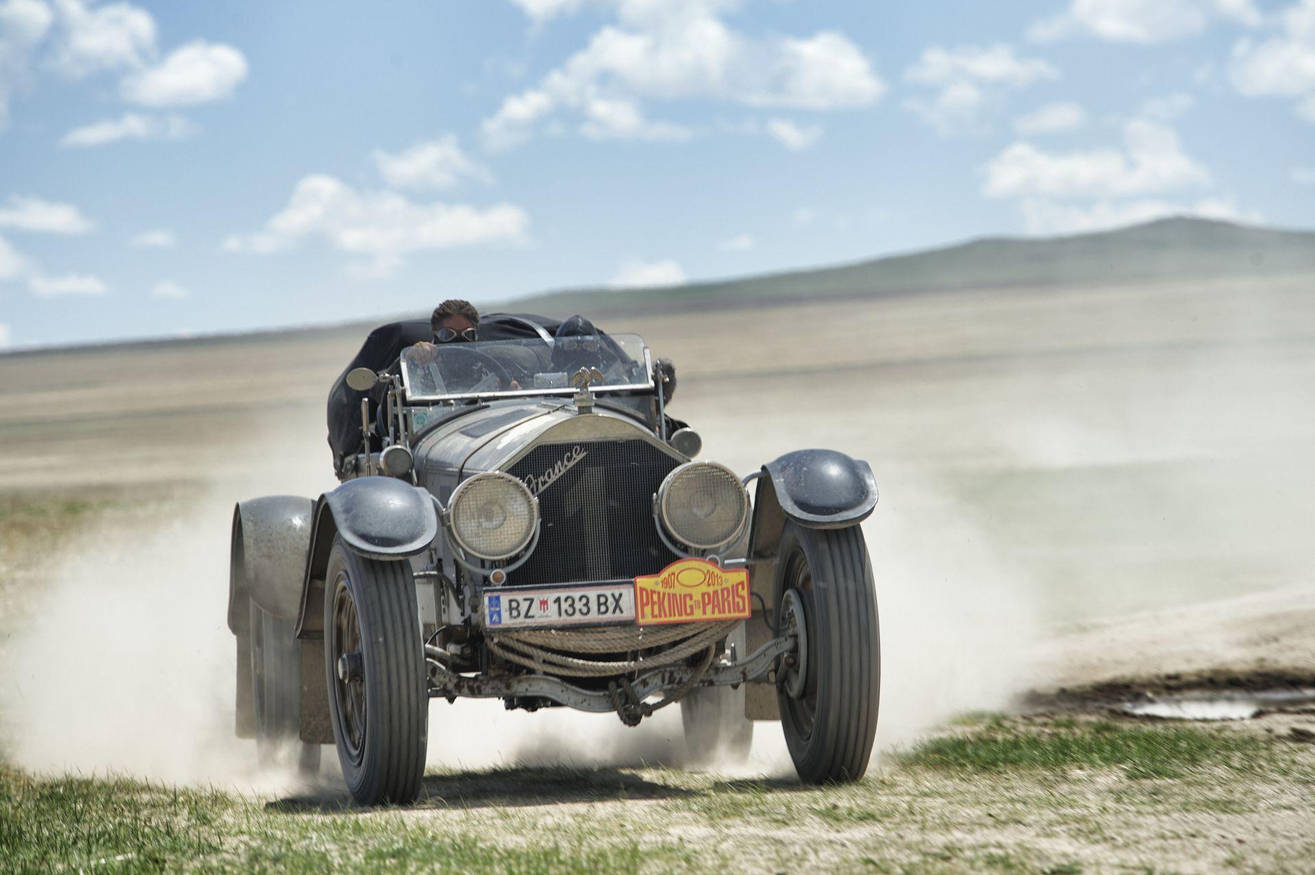 Paris to Peking Rally 2013 Car 99, a 1950 Bentley MKV1 Special ...