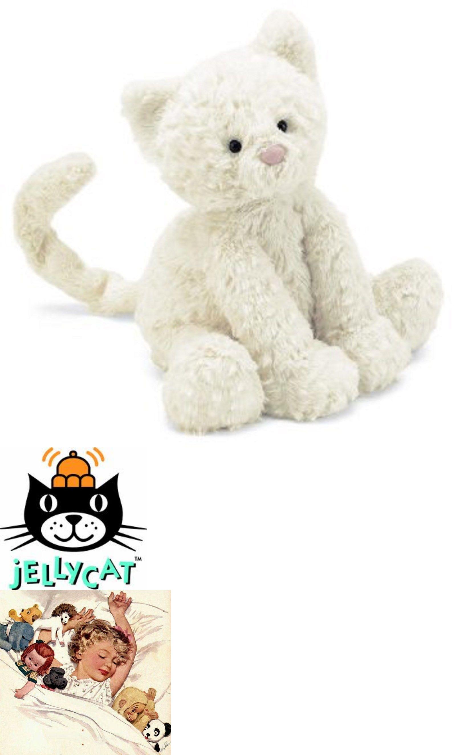 Jellycat 158786 Jellycat Fuddlewuddle Kitty New With Tags Buy It Now Only 26 99 On Ebay Jellycat Fuddlewuddle Monkey Stuffed Animal Jellycat Animals