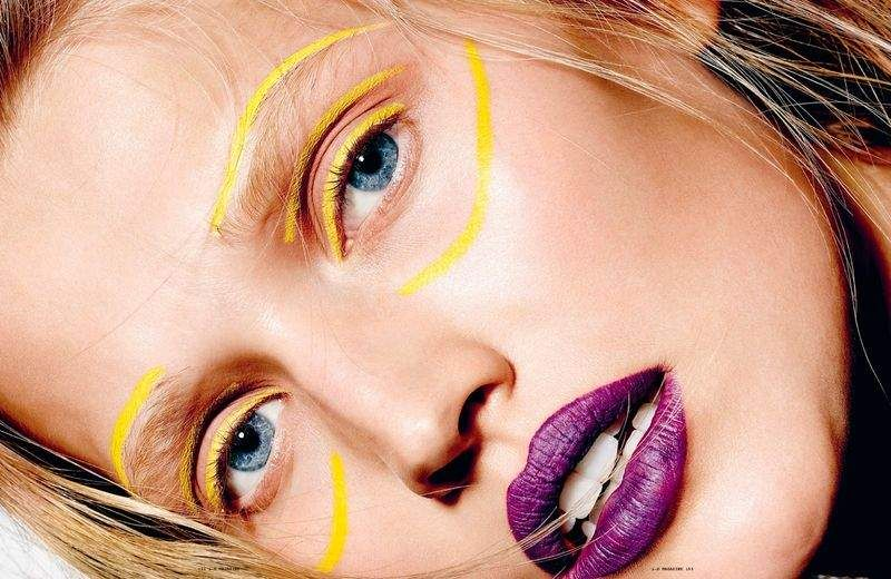 Face Painted Beauty Closeups