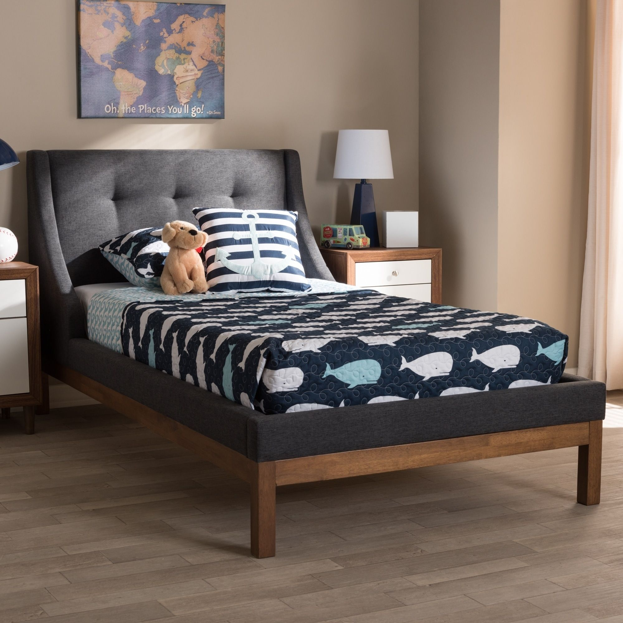 Taylor & Olive Twin Pond Contemporary Fabric Twinsize