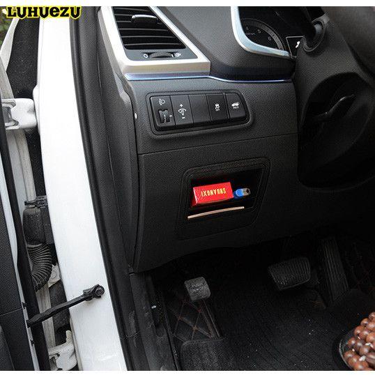 Abs Car Fuse Box Cover For Hyundai Tucson 2015 2016 2017 Accessories Car Fuses Fuse Box Cover Fuse Box