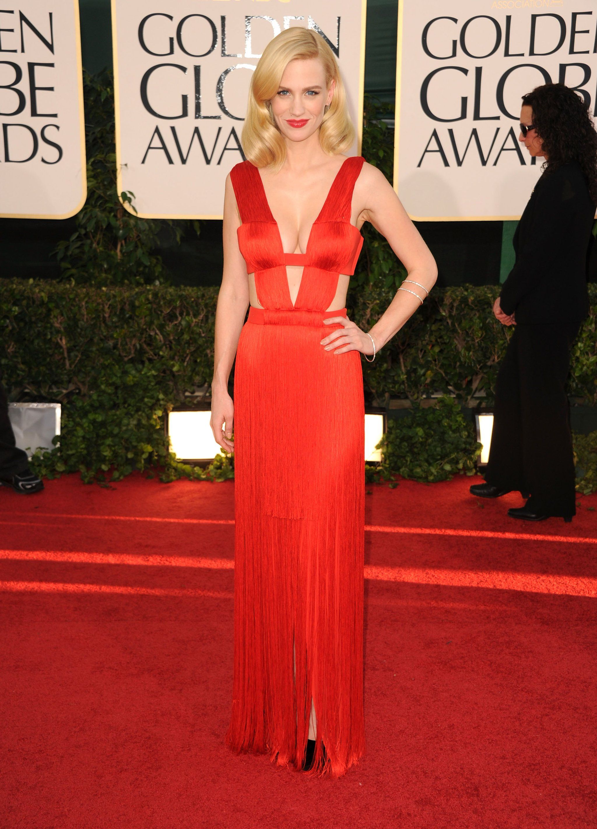 Pictures Of Golden Globes Ladies Red Carpet Red Gowns Red Formal Dress Red Dress [ 2846 x 2048 Pixel ]
