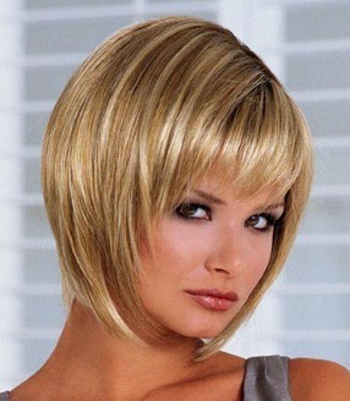 fantastische frisuren für dünne feine haare runden gesicht