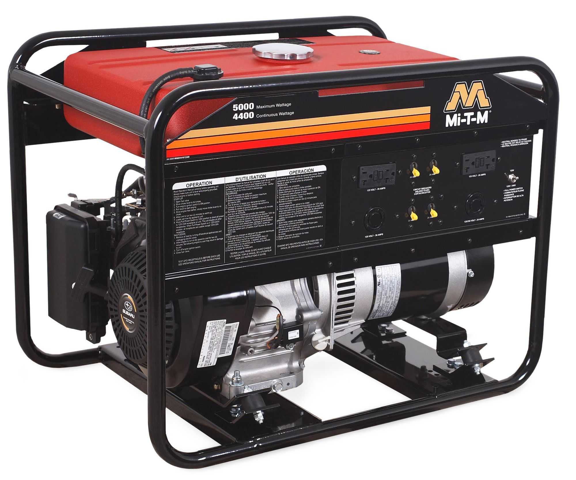 5000 Watt Portable Gasoline Generator Products