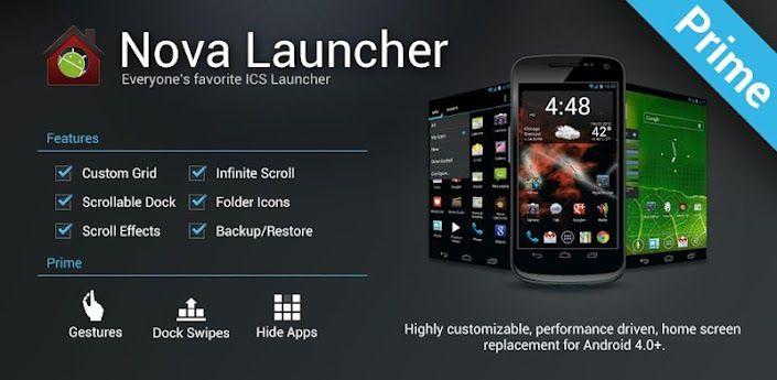 Nova Launcher Prime APK v5.5.3 Nova launcher, Nova