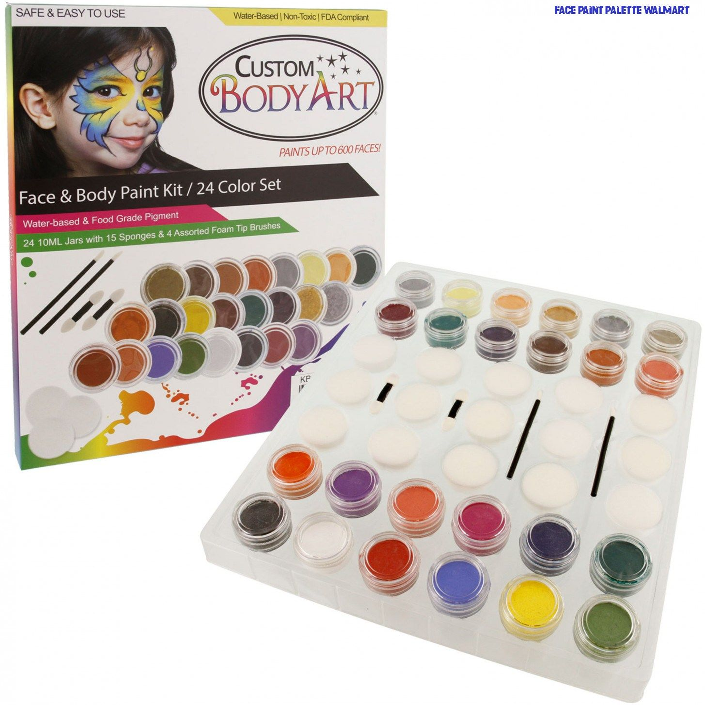 fancydressvip Makeup Zombie Zipper Kit Halloween