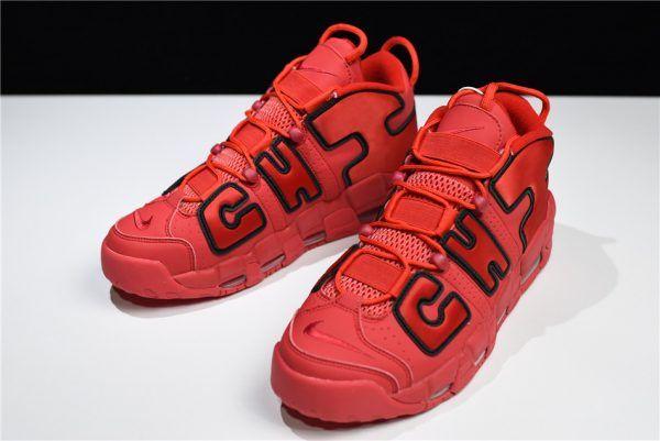 innovative design ed493 f34de Nike Air More Uptempo Chi Chicago University Red Black AJ3138-600-5