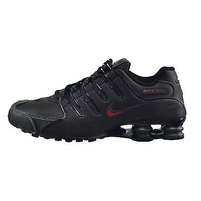 c238d62319a Nike Shox Nz Mens 378341-017 Black Red Running Shoes Athletic Sneakers Size  7.5
