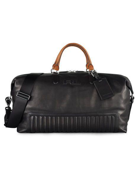 613f08d454ed Quilted Leather Duffel Bag - Ralph Lauren New Arrivals - RalphLauren ...
