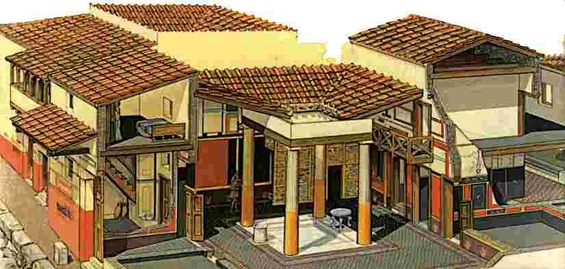 pin von christine schr der auf antike rekonstruktion pinterest h uschen antike und r misch. Black Bedroom Furniture Sets. Home Design Ideas