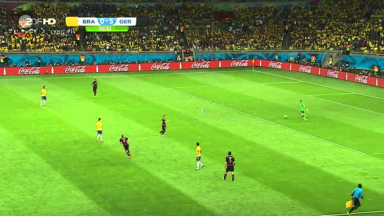 Wm Halbfinale 2014 Brasilien Deutschland 1 7 Ganzes Spiel