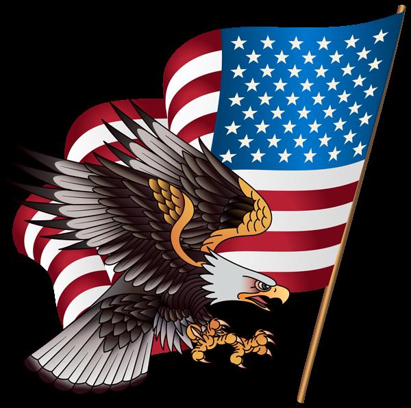 American Eagle Transparent PNG Clip Art Image