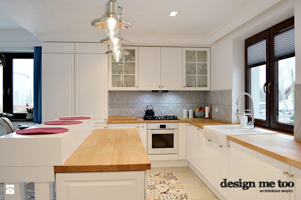 Kuchnia styl Prowansalski  zdjęcie od design me too   -> Kuchnia Otwarta Meble