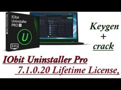 crack iobit uninstaller 7.1