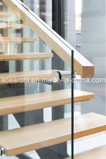 Best Hot Item Modern Single Beam Straight Staircase Steel 640 x 480