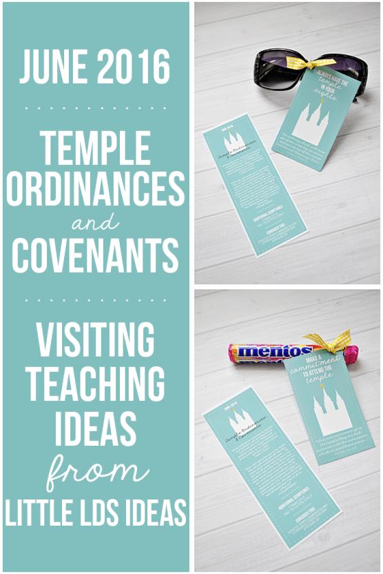 June 2016 Visiting Teaching Message from Little LDS IdeasLittle LDS Ideas