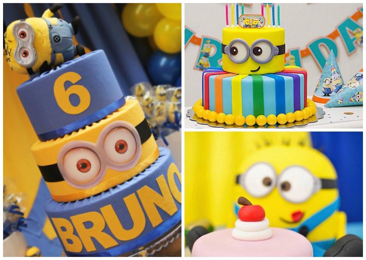 Extremamente Bolo | Cake | Bolo para Festa Infantil | Bolo dos Minions | Festa  RA77