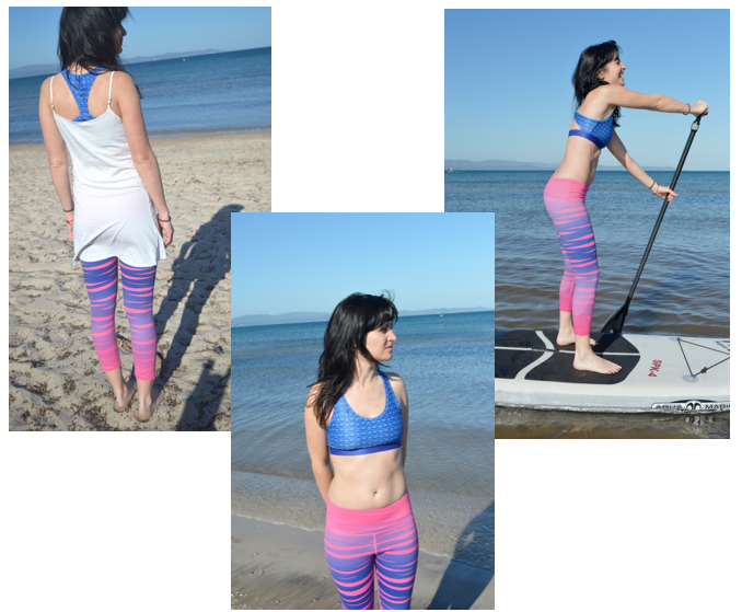 Quick dry surflegging, great for on the water Sports or just to chill in.