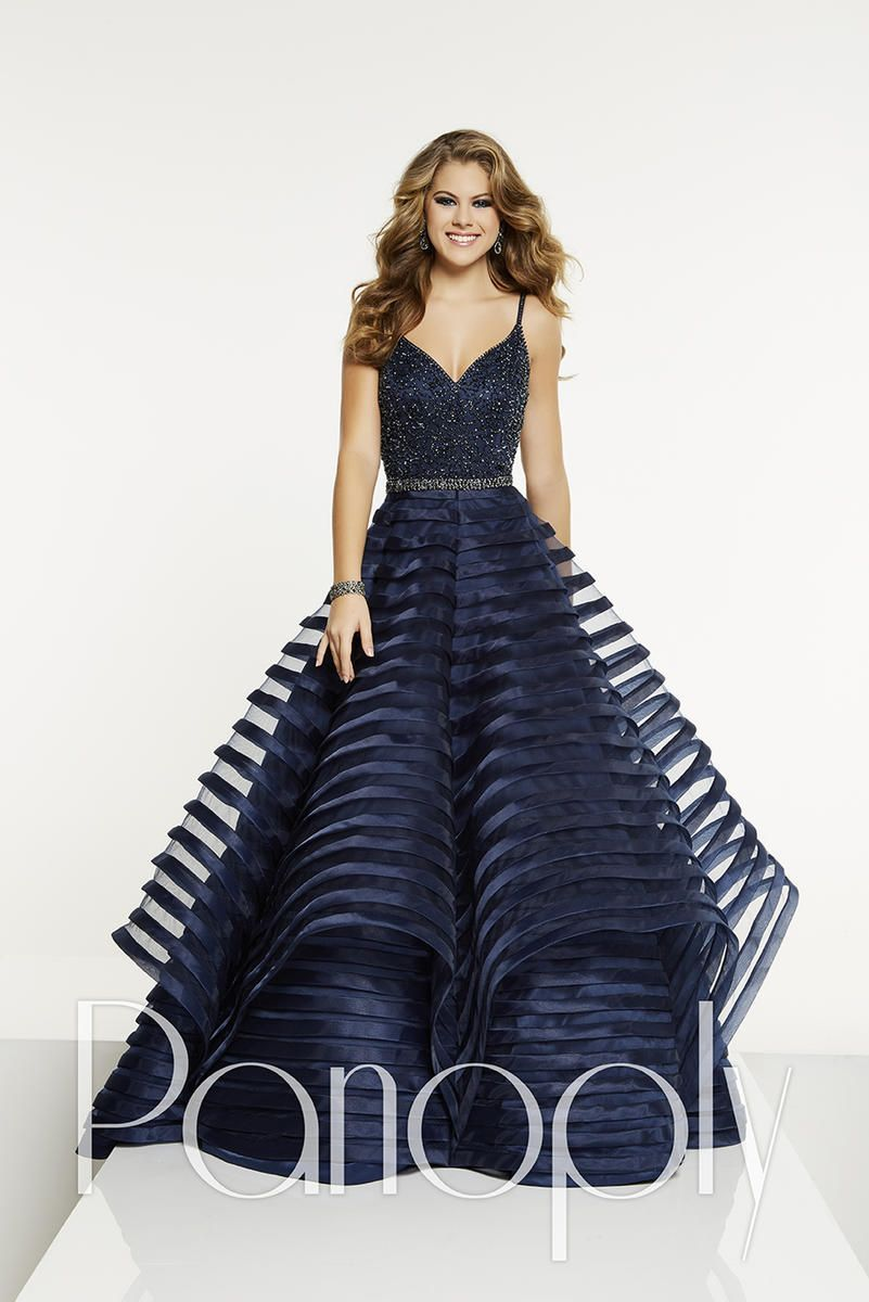 891408be2f3 Style 14904 from Panoply is a beautiful gown that has a sweetheart neck and  spaghetti strap
