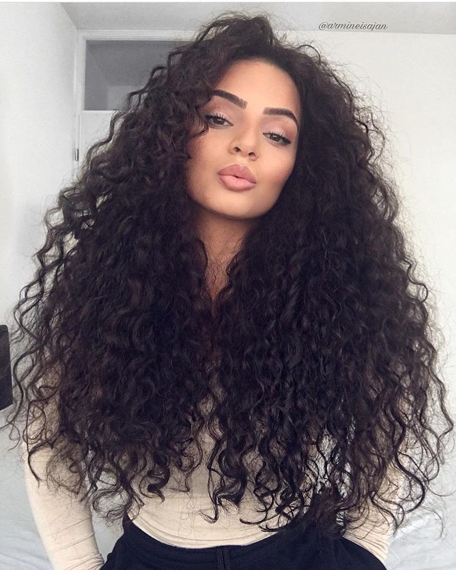 45 Elegant Naturally Curly Hair For Beautiful Women Hairstyles 2019
