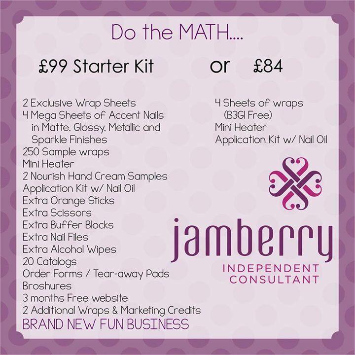 Do the math Jamberry starter kit v application bundle   - vendor application form