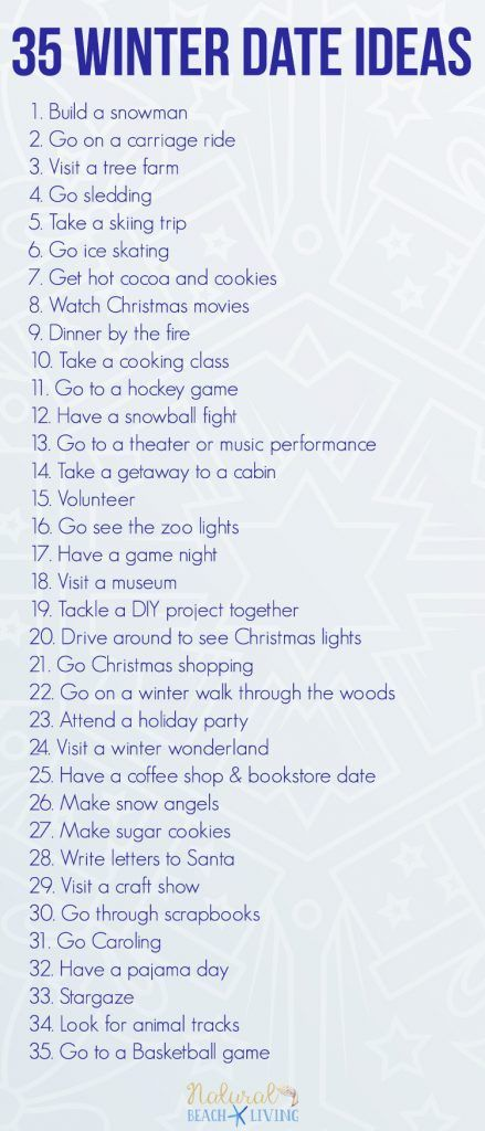 35 Fun Winter Date Ideas You Can Do On A Budget Connie Uran