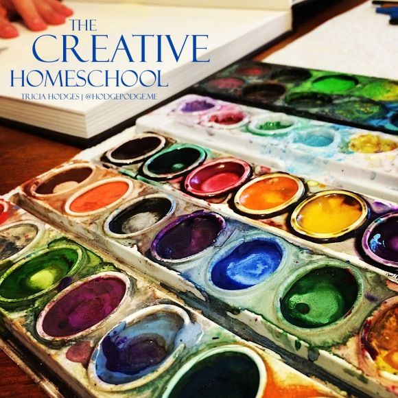 The Creative Homeschool at Hodgepodge - organizing time for - personal interests