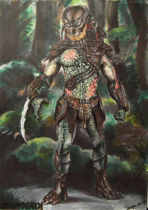 Berserker Predator by jiangming on deviantART