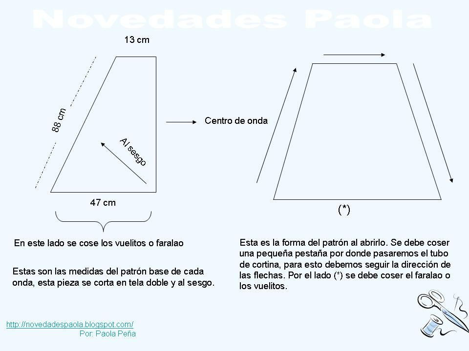 Novedades Paola: Cortina: Cenefas Entubada Cruzada | cortina ...