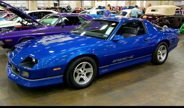 Blue Iroc Z Camaro Iroc Chevy Camaro Camaro