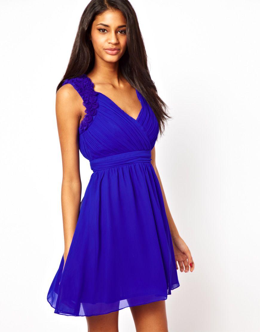 Bridesmaid dresses.. love the blue!! | Idea\'s for best friend\'s ...