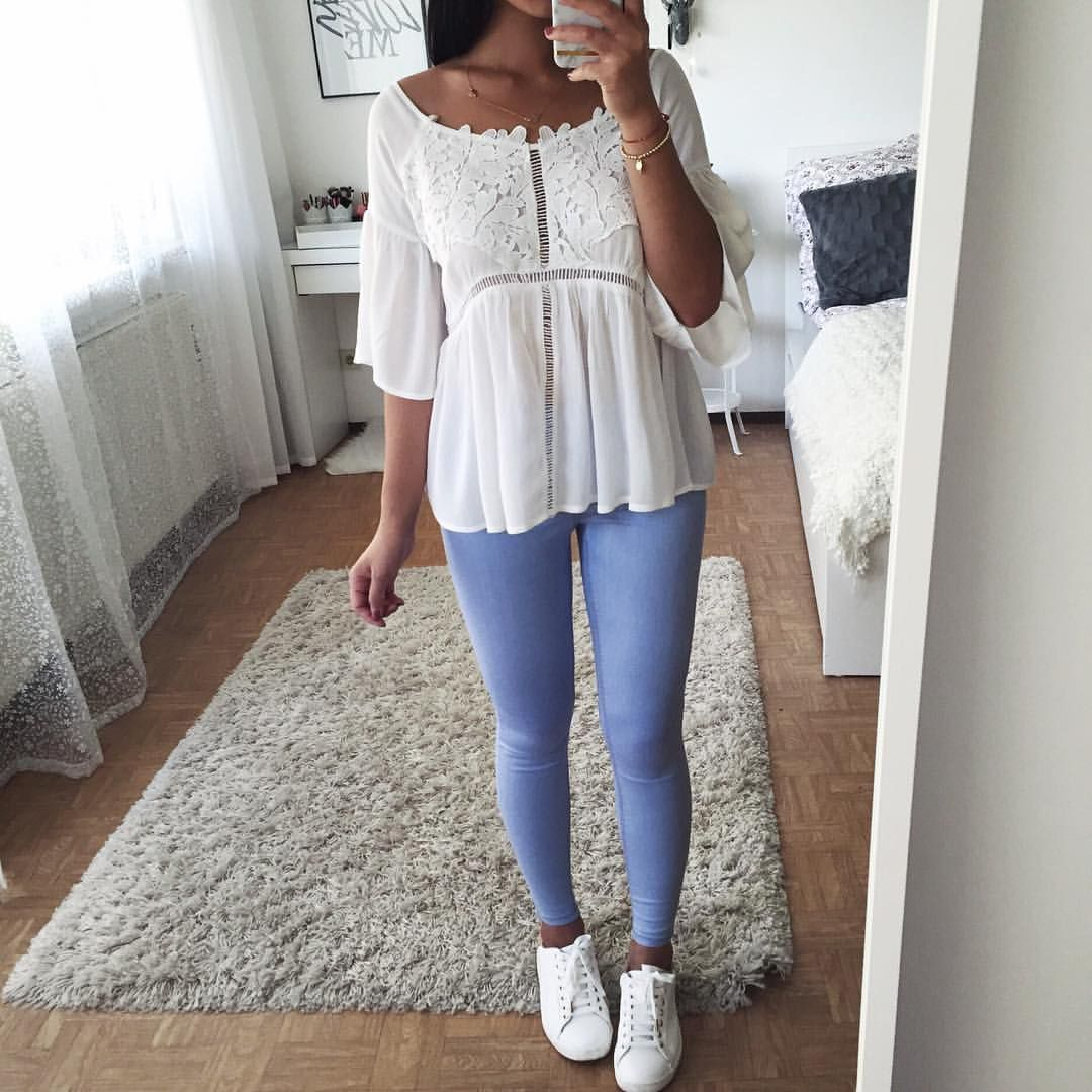 """12.3 k mentions J'aime, 57 commentaires - Thanya W. (@thanyaw) sur Instagram: """"Cute top by @ootdfash """""""