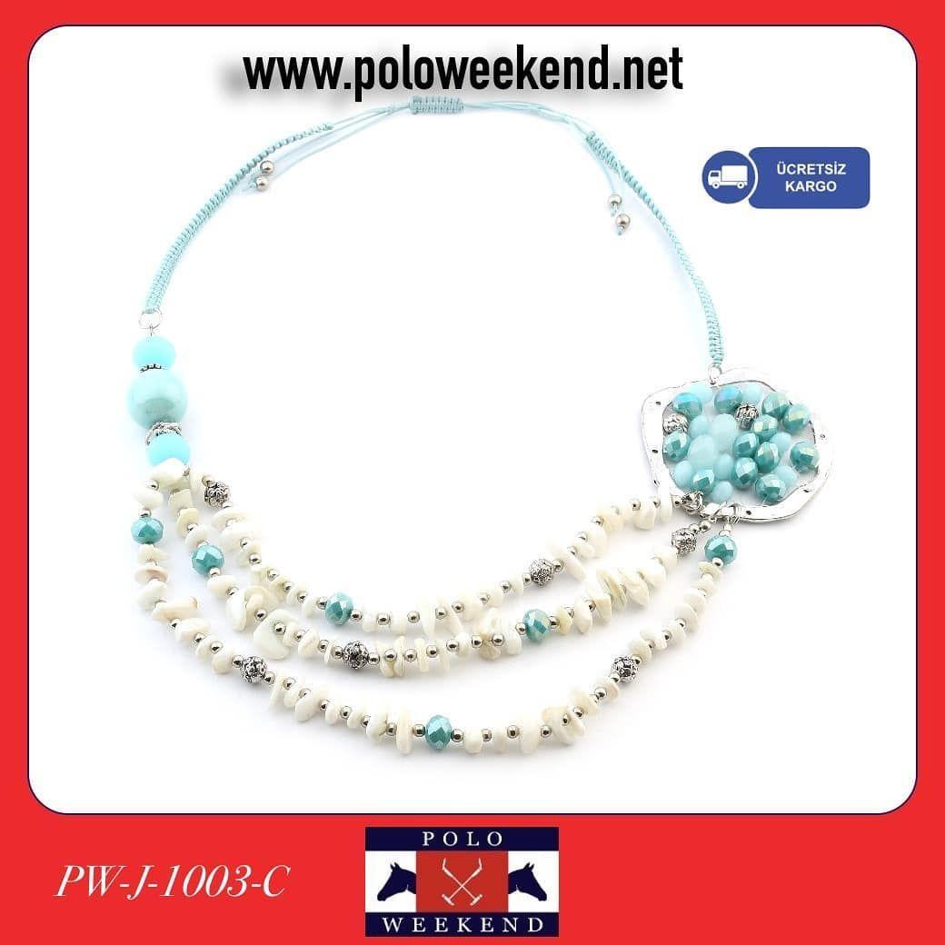 Polo Weekend Bayan Kolye 🏷️ 39. 00 TL | 📲whatsapp sipariş: 0(541)634 1 634 💰Kapıda Ödeme 💳Kredi Kart...