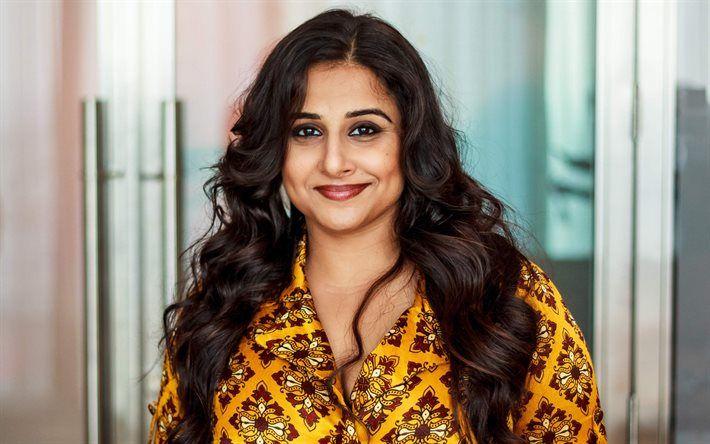 Download wallpapers Bollywood, Vidya Balan, beauty, smile, indian actress  besthqwallpapers.com