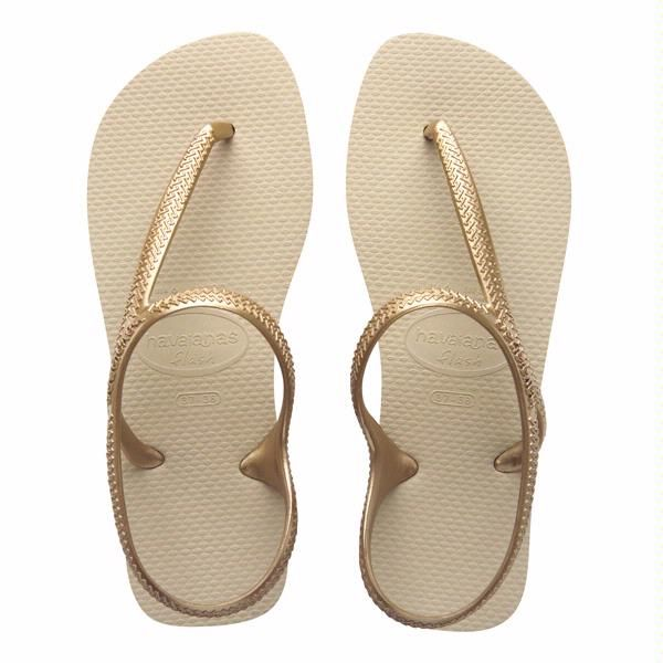Havaianas flash urban light golden love them, look good