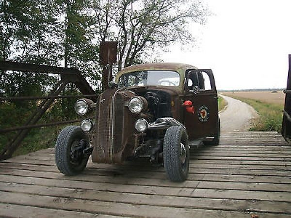 Other Makes : RAT ROD custom rat rod, hot rod, gasser, project car, 1936 pontiac - http://www.legendaryfind.com/carsforsale/other-makes-rat-rod-custom-rat-rod-hot-rod-gasser-project-car-1936-pontiac/