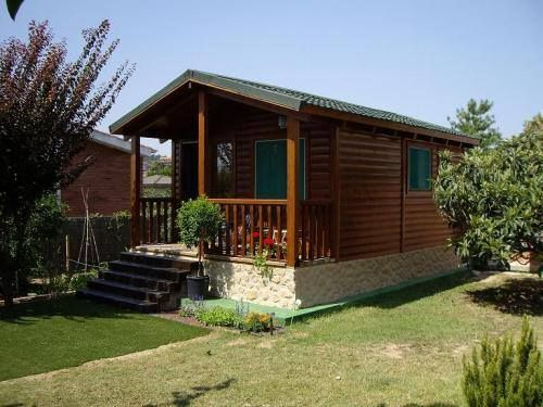 Caba a rural casas y planos pinterest caba as - Cabanas casas prefabricadas ...