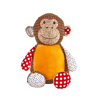 CUBBIES HARLEQUIN YELLOW MONKEY