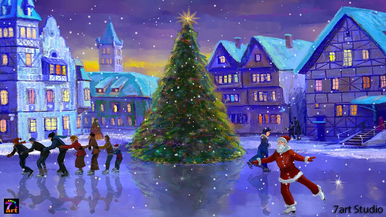 Christmas Wallpapers And Screensavers Christmas Live Wallpaper Animated Christmas Wallpaper Christmas Wallpaper Android