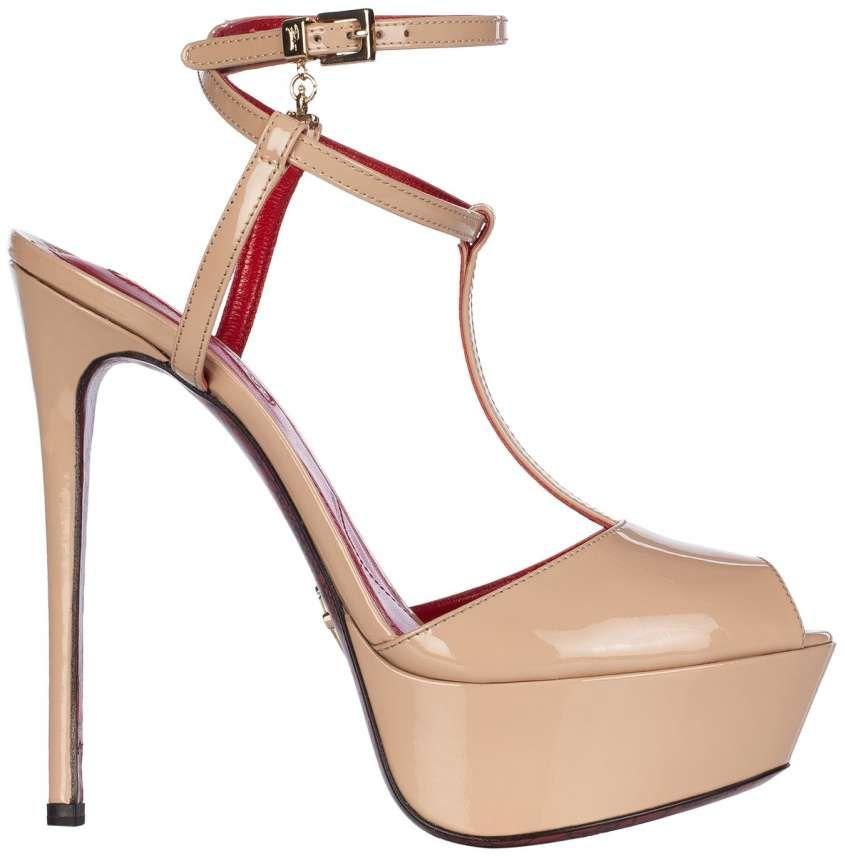 Collezione scarpe Cesare Paciotti Primavera Estate 2015 - Sandali color  carne con tacco alto e maxi 5e74688b929