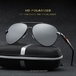 Aviator Men's Polarized Sunglasses