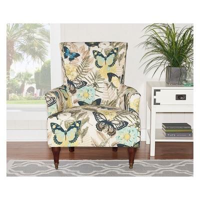 Marvelous Junnell Arm Chair Multi Color Linon Home Decor Multi Inzonedesignstudio Interior Chair Design Inzonedesignstudiocom