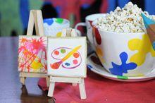 Souvenirs comestibles atril y Pintura