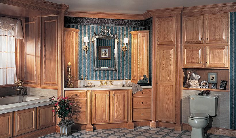 Intelligent Storage Solutions For The Bathroom By Merillat Masterpiece Cabinetry