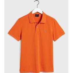 Photo of Glove Pique Poloshirt (Orange) GloveGant