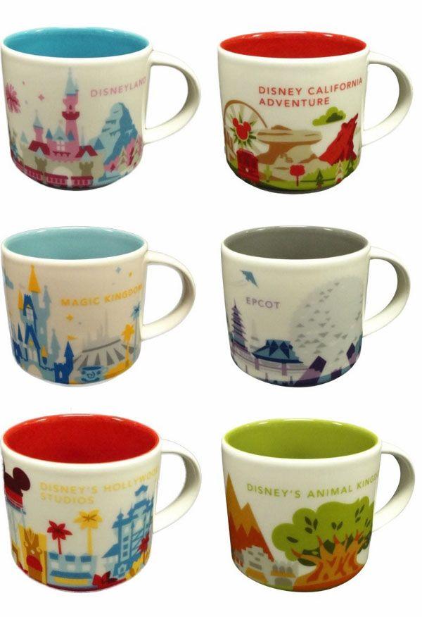 Disney & Starbucks Bring New Mug Collection to Stores
