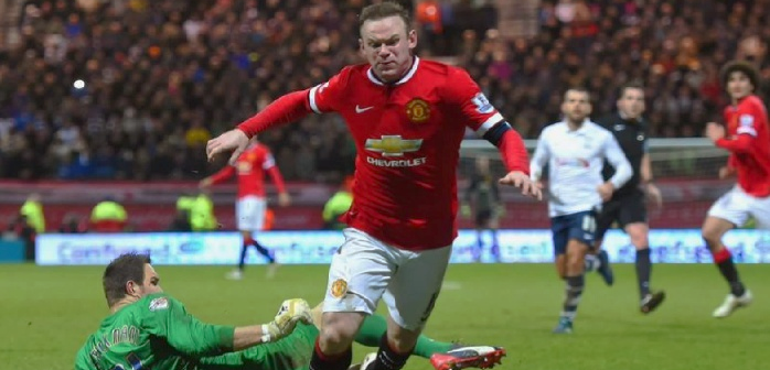 Did Rooney dive last night? We certainly think so! #Rooney #MUFC #Football