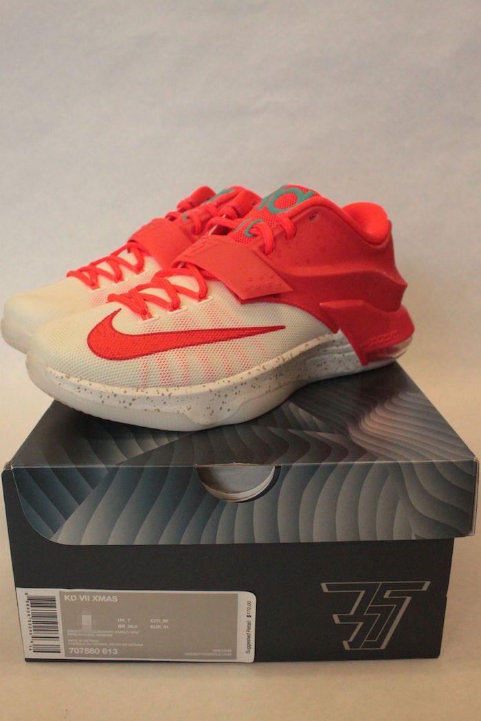Nike Kd Vii 7 Navidad 6 Egg Nog 707560 613 6 Navidad Debe Tener Patadas 355aaf